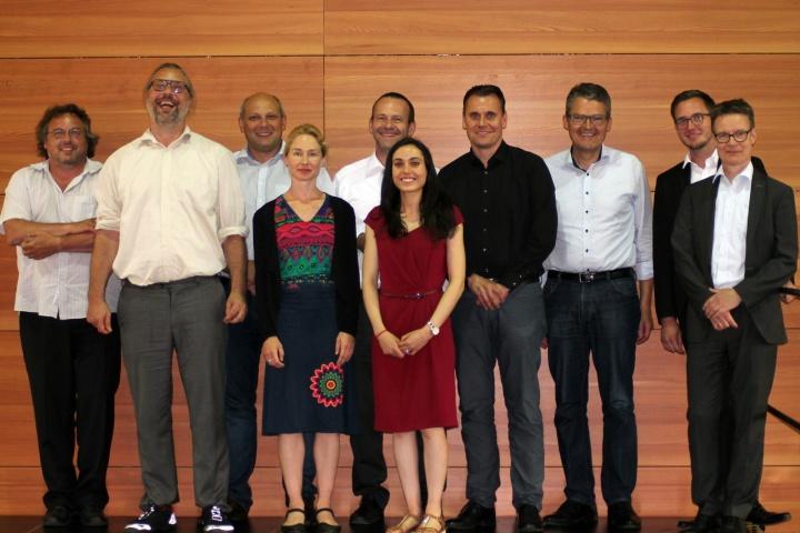 Das Projektteam und die Projektpartner von NEOS