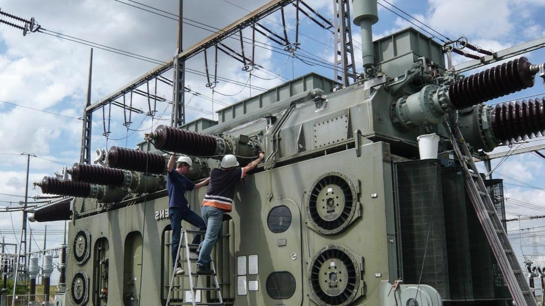 Vor-Ort-Messung an einem Transformator